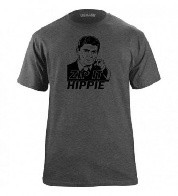Classic Hippie Funny T Shirt Heather
