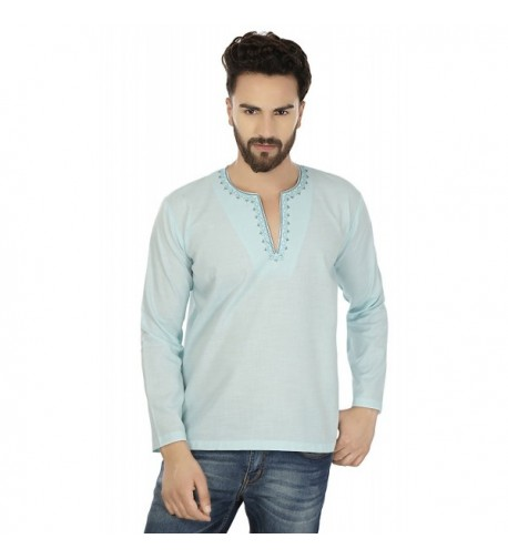 Embroidered Cotton Short Kurta Clothes