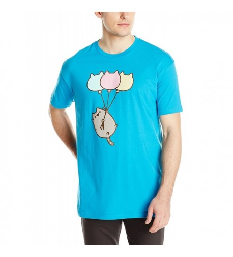 Pusheen Mens Balloon Blue Large