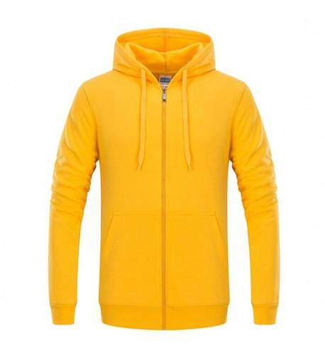 ACHIEWELL Sweatshirt Hoodies Zipper Lightweight