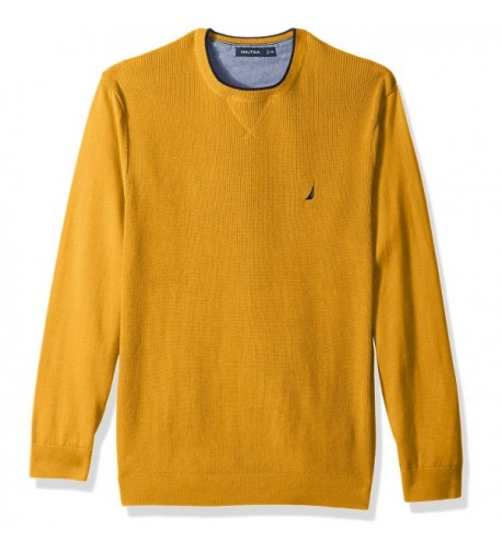 Nautica Standard Sleeve Sweater Yellow