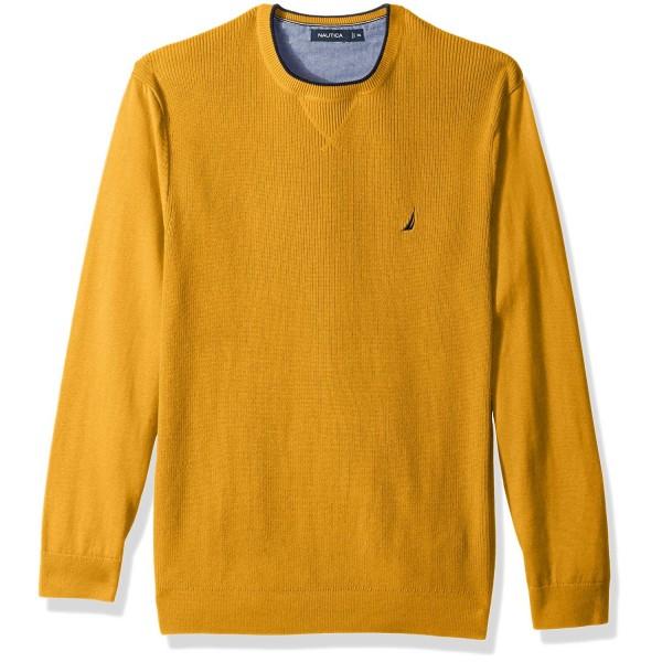 Nautica Standard Sleeve Sweater Yellow
