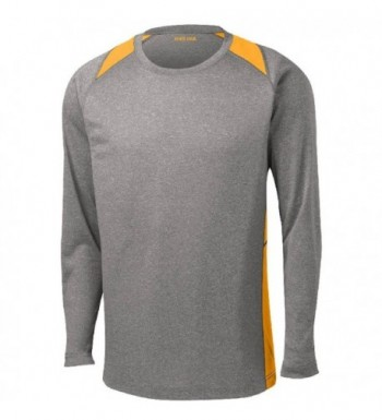 Sleeve 2 Color Heather Athletic Colors