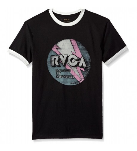 RVCA Mens Volt Tee Black