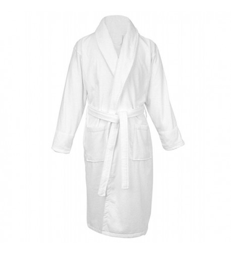 LUXEHOME 100 Cotton Terry Bathrobe