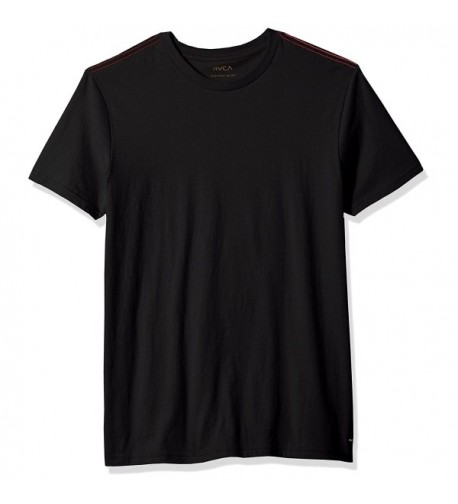 RVCA Mens Vintage Label Black