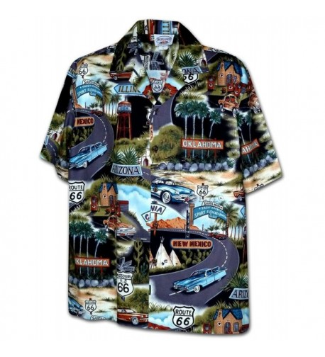 Historic Route Shirts Black 410 3719