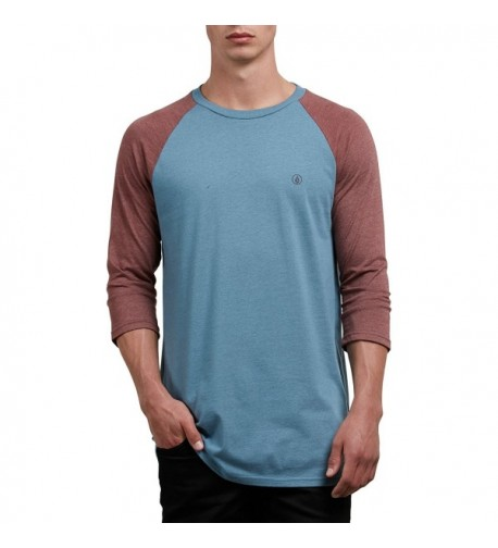 Volcom Heather Sleeve Raglan Wrecked
