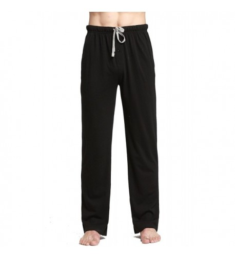 CYZ Cotton Pajama Lounge Pants Black M