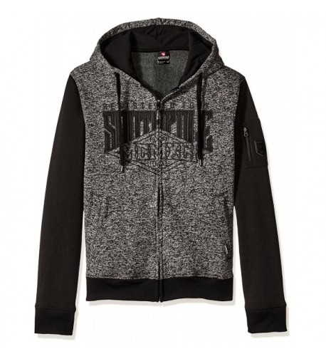 Southpole Sleeve Hooded Fleece Applique