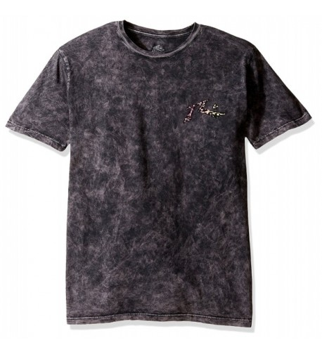 Rusty Splat Short Sleeve Black