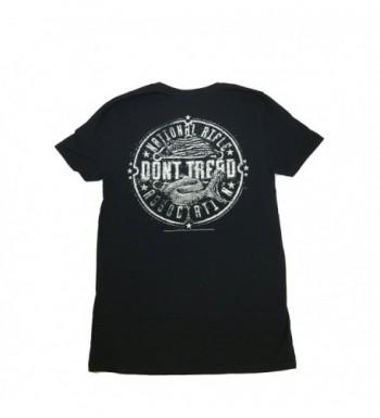 UWareTees NRA Snake Circle T shirt medium