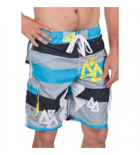 Sakkas B311815 Stretch Waistband Boardshorts