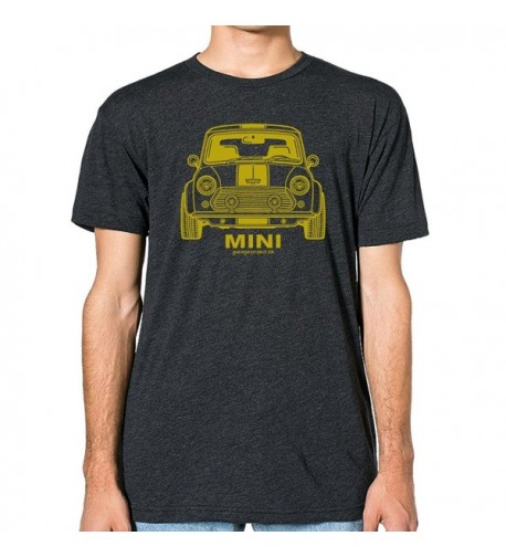 GarageProject101 Classic Front T Shirt Heather