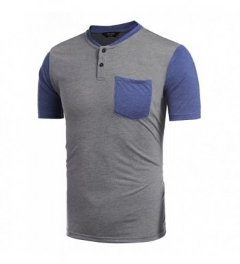 Fashion Men's Henley Shirts