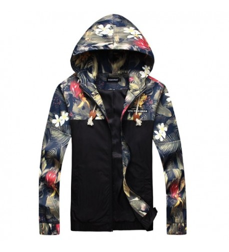 Stylish Printed Jackets Windbreaker Outwear
