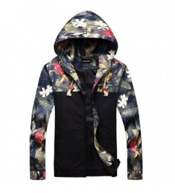 Stylish Printed Jackets Windbreaker Outwear
