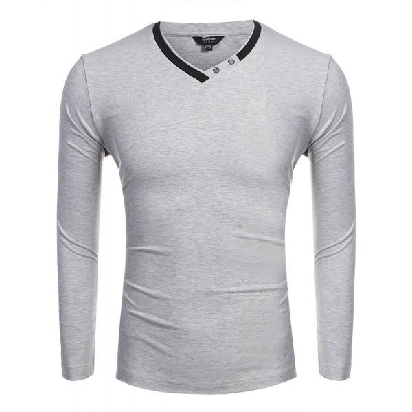 Coofandy Casual Sleeve Pullover Medium