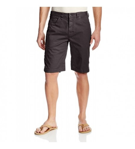 prAna Bronson Short Inseam Charcoal