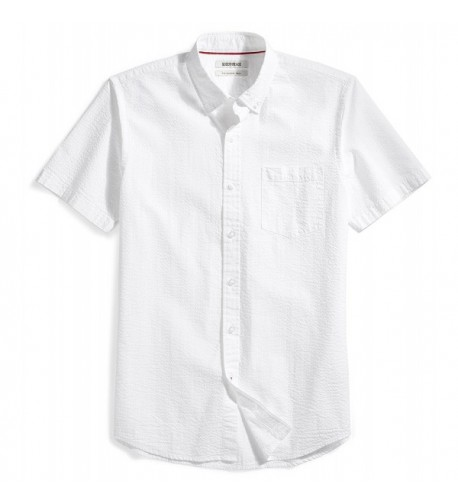 Goodthreads Slim Fit Short Sleeve Seersucker Shirt
