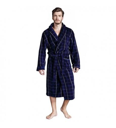 Pombeii Premium Fleece Classic Bathrobe