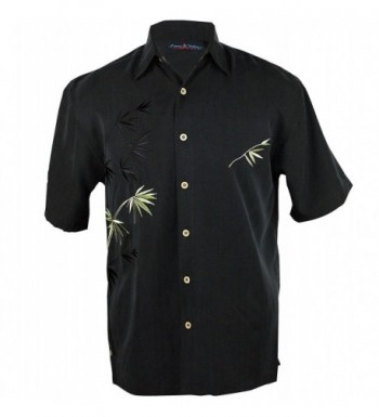 Maui Clothing Embroidered Bamboo Aloha