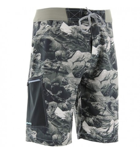 Mens offshore cell boardshort charcoal