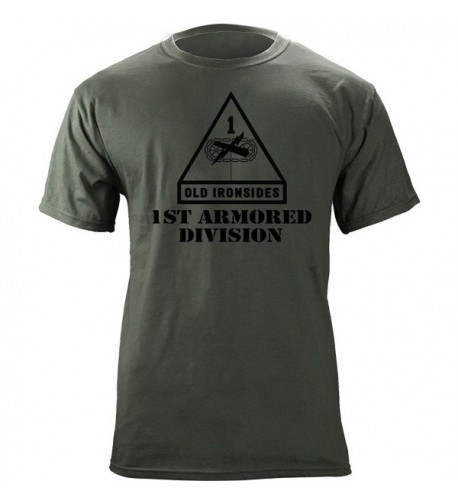 Armored Division Subdued Veteran T Shirt