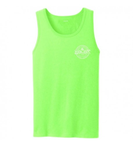 Koloa 2 Sided Thruster Top NeonGreen w 4XL