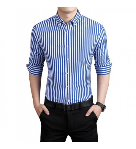 DOKKIA Formal Business Vertical Striped