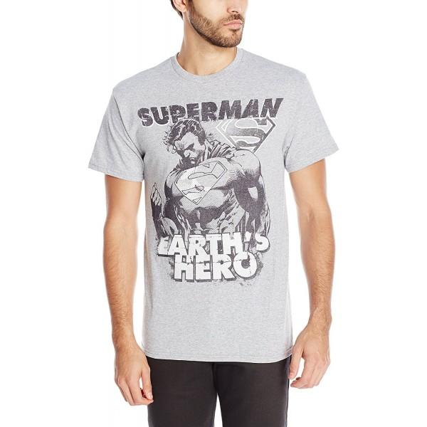 DC Comics T Shirt Athletic Heather