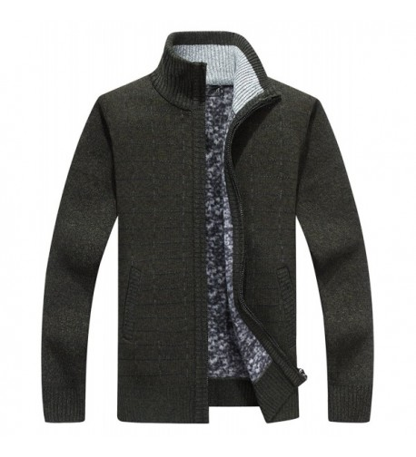HOWON Solid Sleeve Cardigan Blackish