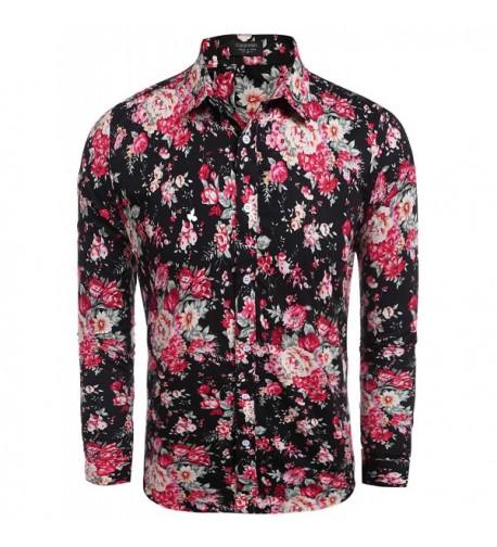 Jinidu Floral Cotton Fashion Sleeve