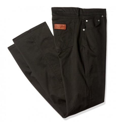 Wrangler Retro Slim Fit Straight Leg Black