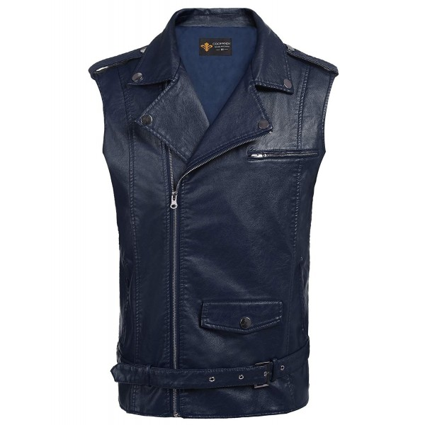 COOFANDY Hipster Leather Motorcycle Jacket