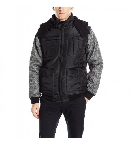 Southpole Padded Jacket Black Large