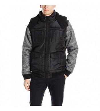 Southpole Padded Jacket Black Large