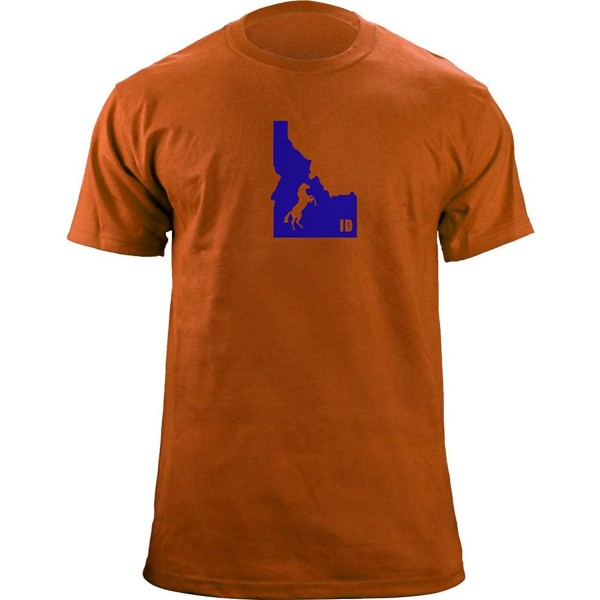 Original Bronco Classic T Shirt Orange