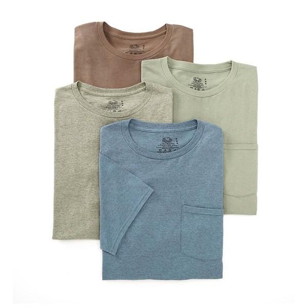 Fruit Loom Mens Pocket T Shirt