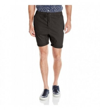 Rusty Mens Hooked Short Black