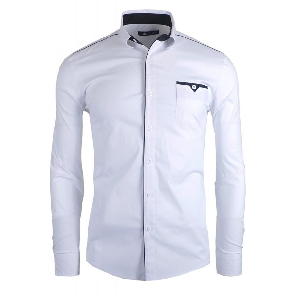 Chaqueteria Classic Casual LCC101 WHITE NAVY US