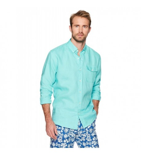 Isle Bay Linens Long Sleeve Button Down