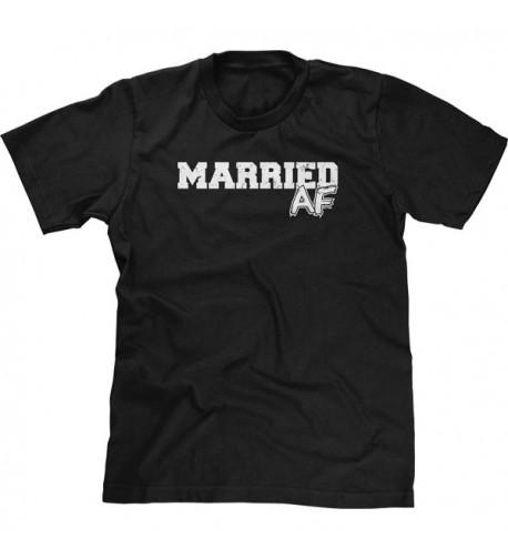 Blittzen Mens Married AF Black
