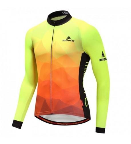 YIDUN Cycling Jersey Reflective Fluorescence