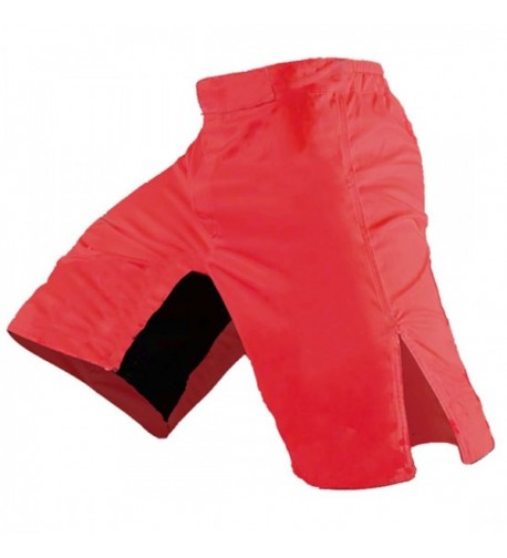 Blank MMA Shorts Red 32