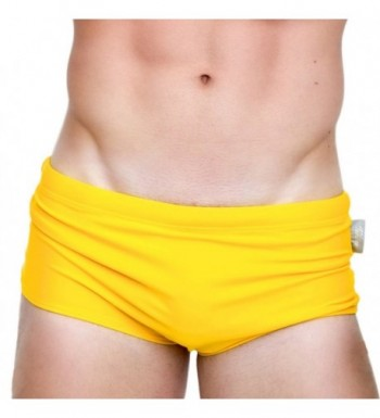 Taddlee Swimwear Swimsuits Yellow Trunks