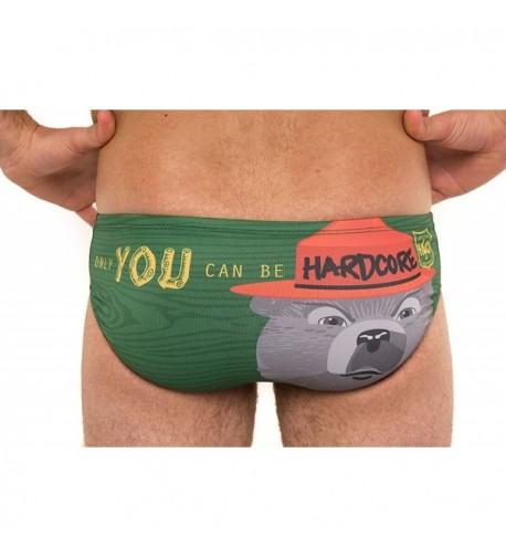 HARDCORESPORT Racing Brief swimsuit Smokey
