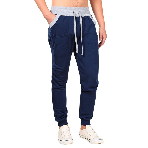 Yong Horse Fashion Drawstring Sweatpants