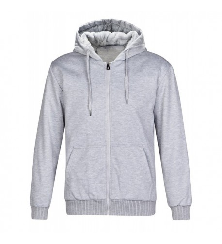 ZITY Mens Fleece Hoodie Jacket