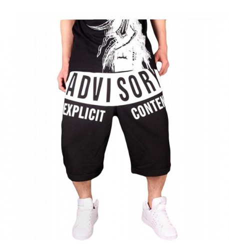 DOYK Fashion Letter Jogger Shorts